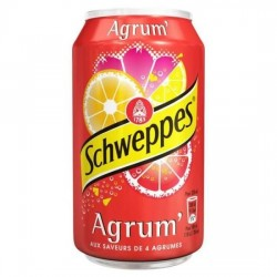Canette Schweppes Agrum 33cl