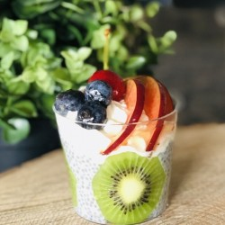VERRINE CHIA AUX FRUITS DE...