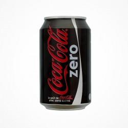 Canette Coca-Cola zero 33cl